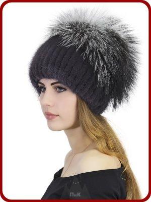 шапка снопик дебора женские шапки из вязаной норки головные
