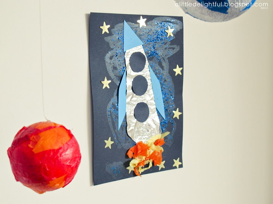 Lots Of Fun Outer Space And Alien Crafts