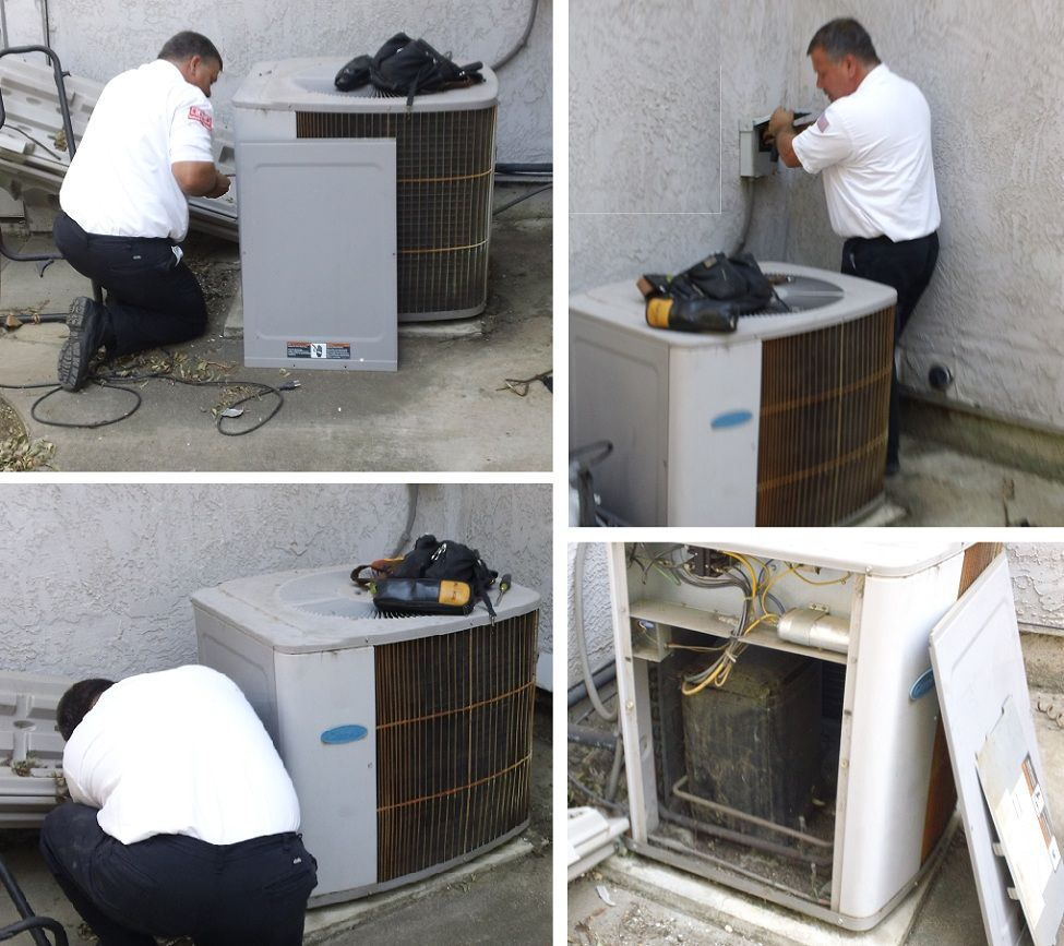An Old Carrier Air Conditioner Stopped Working In Fairfield Ca