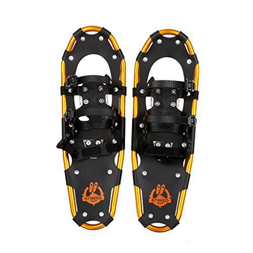 Enkeeo Light Weight Aluminum Alloy Terrain Snowshoes Kit