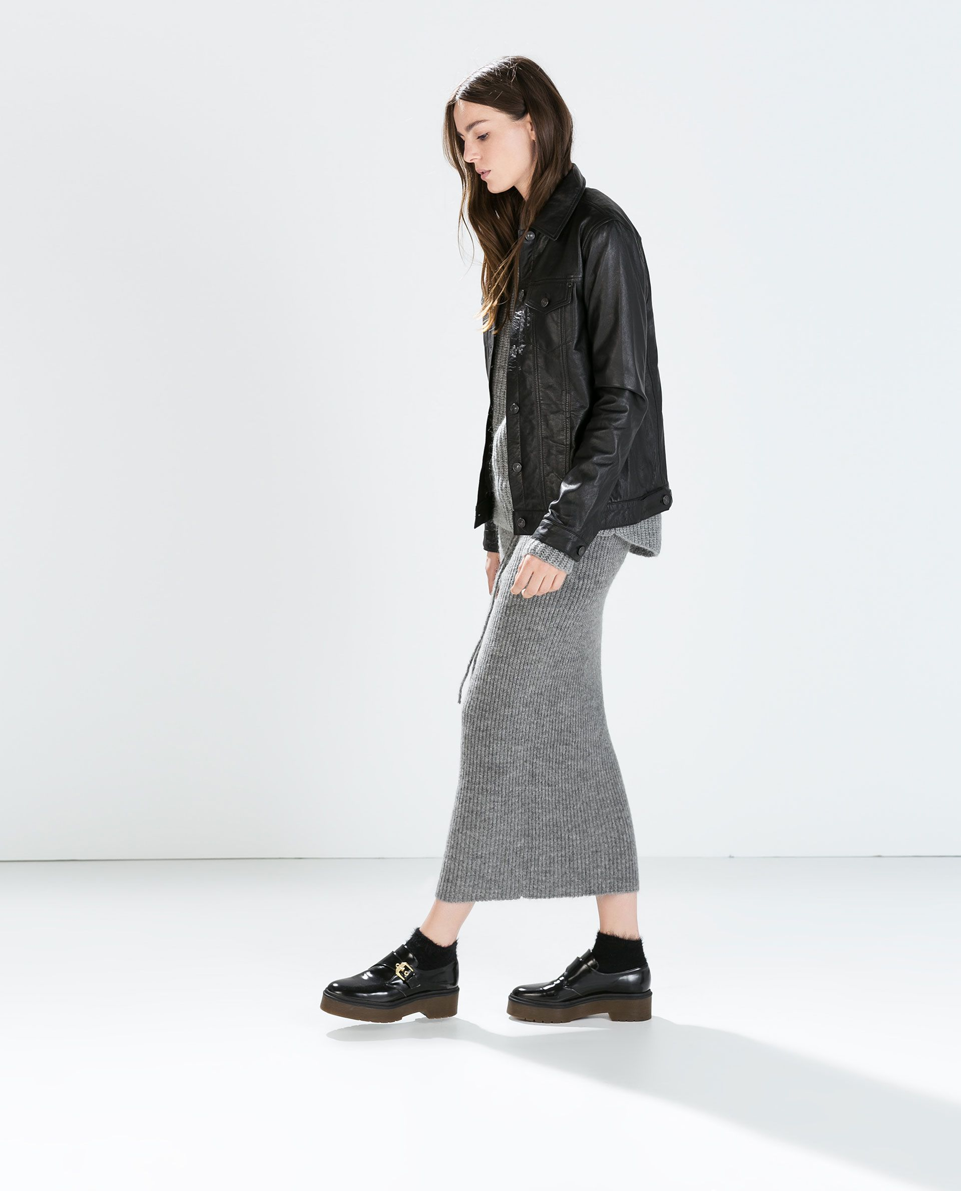 Zara Leather Jacket Leather jacket, Jackets, Zara
