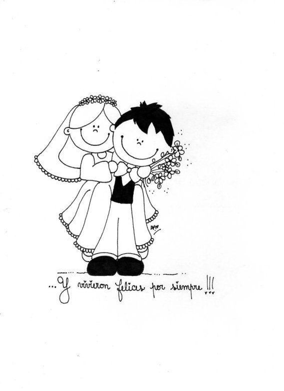 Album De Fotos Para Novios Tarjeta De Casamiento Originales Dibujos Boda Felicitaciones De Boda