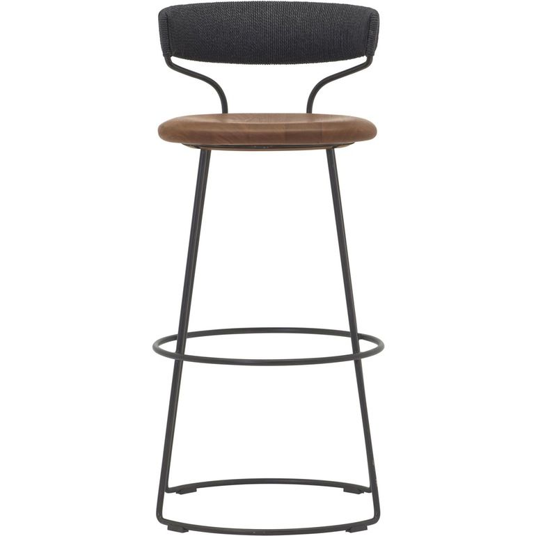 Danish Cord Swivel Bar Stool Mcguire Furniture Chairs