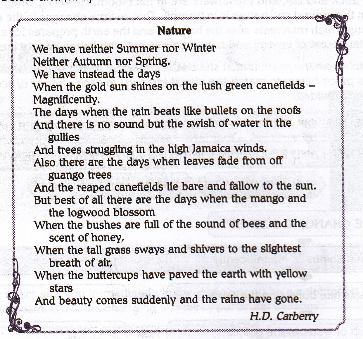 Famous Nature Poems