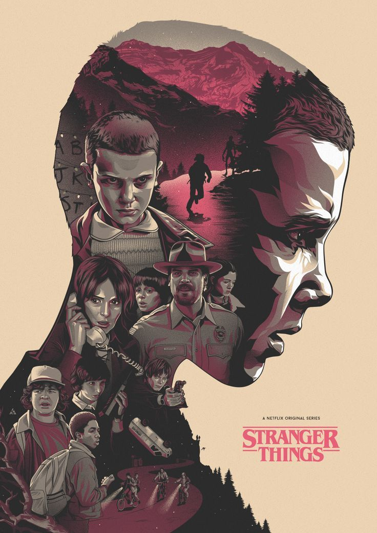 Stranger Things #filmposters