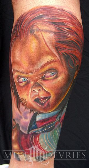 Best Tattoos of Chucky from Child's Play | Chucky Tattoos