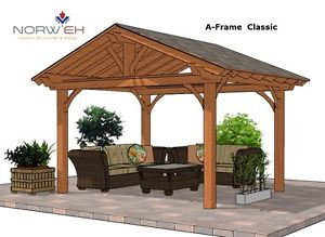 Beautiful Cedar Pavilion Pergola Gazebo Kits Fy Backyard