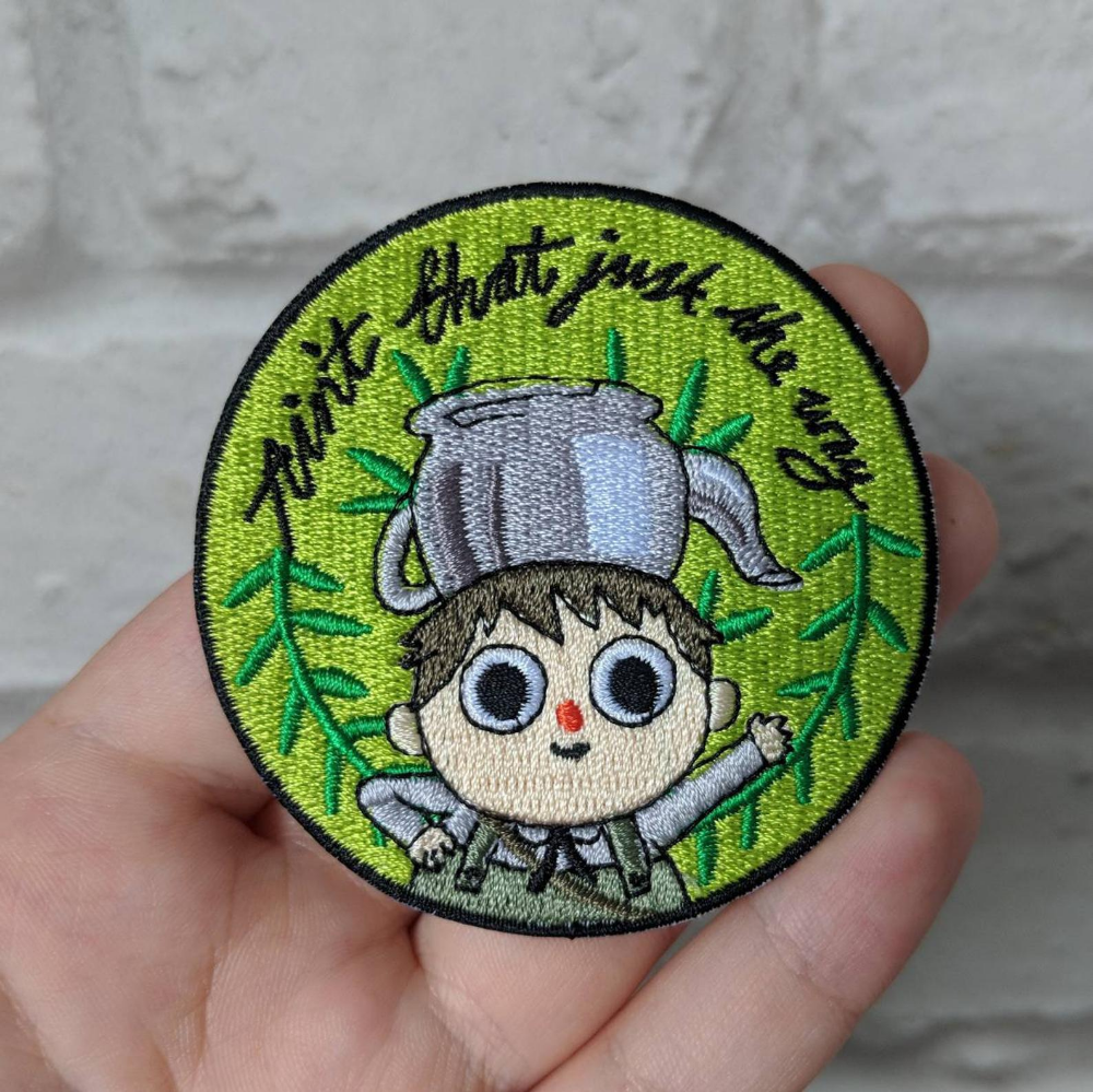 Over The Garden Wall Inspired Greg Embroidered Patch Over The