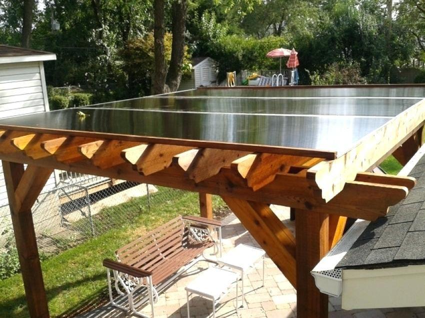 how to cover a pergola from rain pergola traditional patio ... on Patio Cover Ideas For Rain id=68740