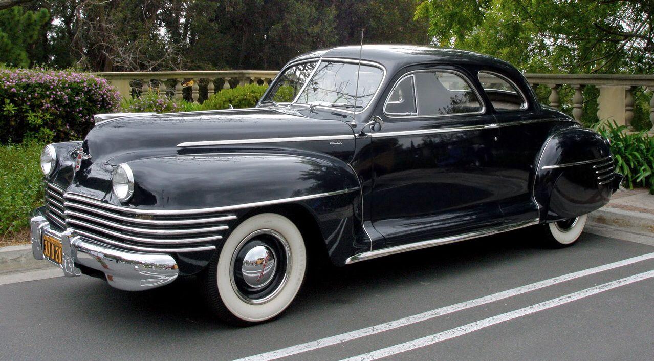 1942 Chrysler Windsor Coupe | Adrenaline Capsules | Pinterest ...