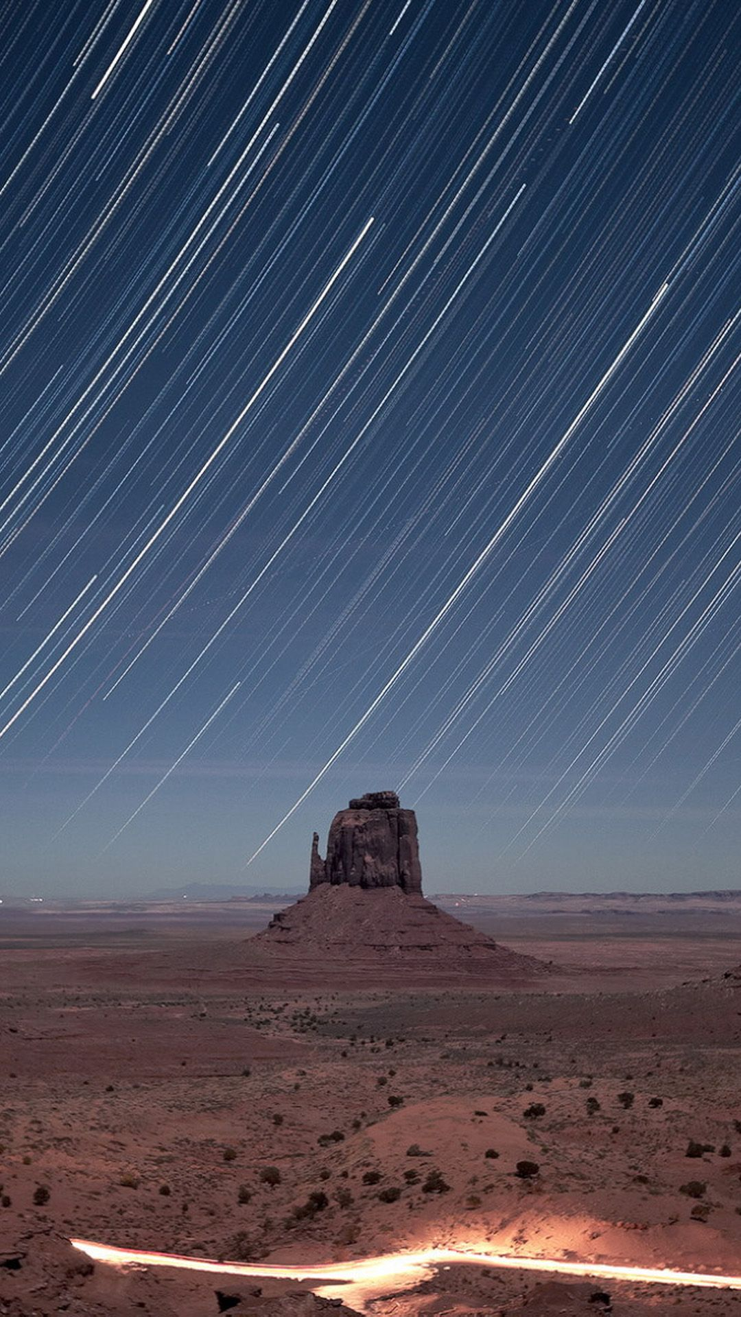 Monument Valley Meteor Shower #Iphone #7 #Wallpaper
