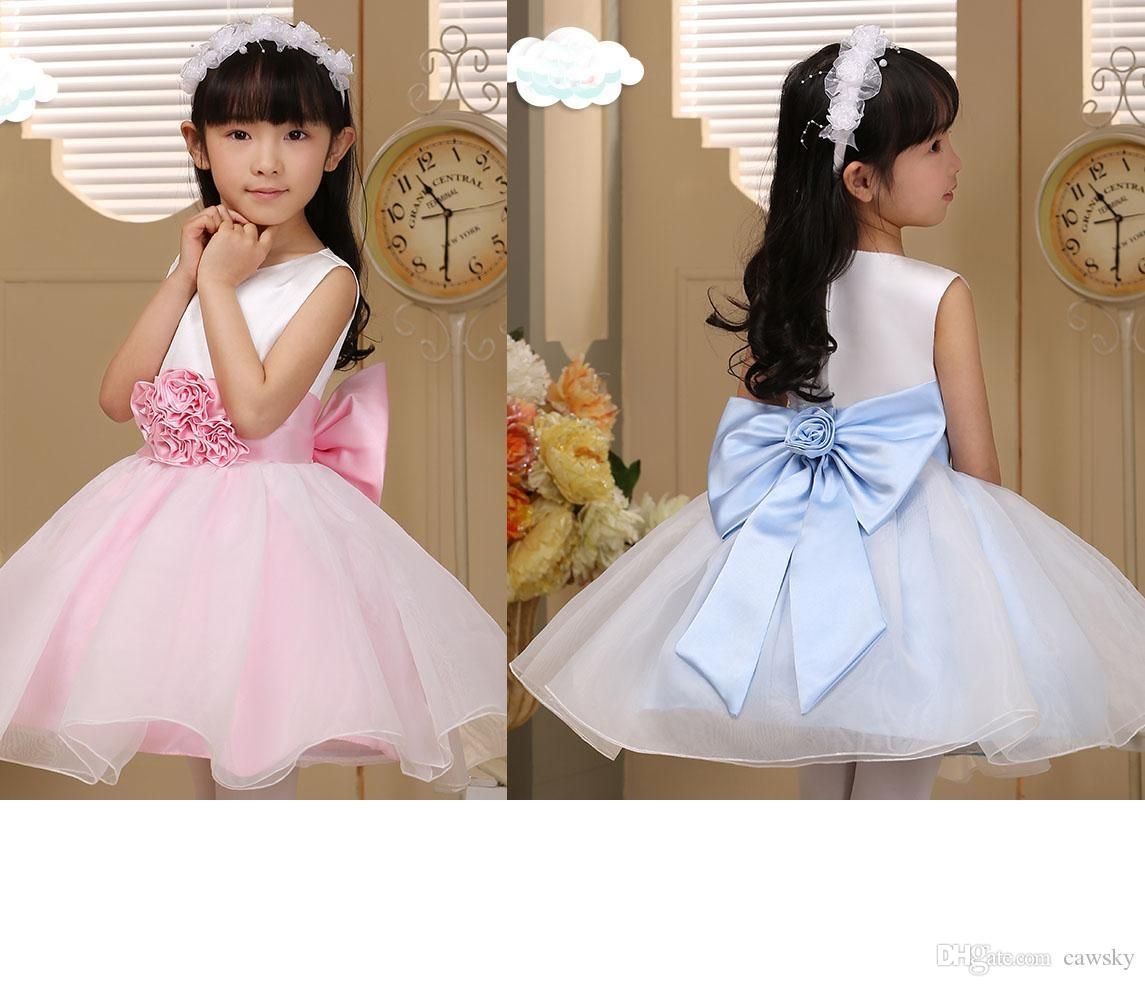 cheap ball gowns flower girls dresses for wedding crew neck