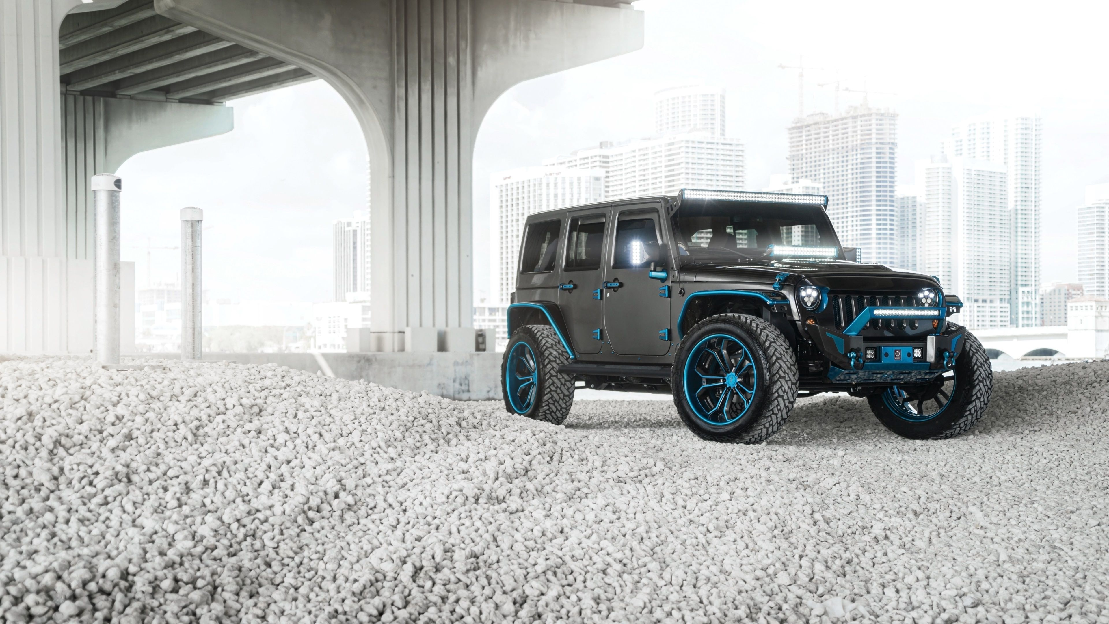 3840x2160 Jeep 4k Download Hd Wallpaper For Desktop Blue Jeep Jeep Custom Jeep Wrangler
