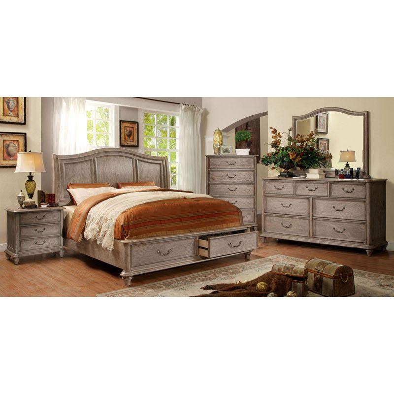 Rustic Bedroom Furniture, Weathered Oak Bedroom Furniture