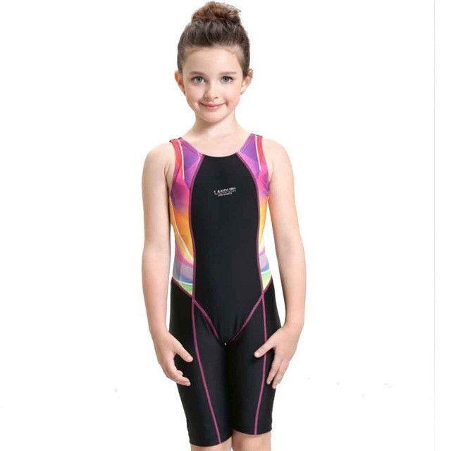 71eba3b1723f8 Child Swimwear One Piece Girls Swimsuits Kids Bathing Suits Baby Swimsuit  Girl Children Beach Wear Diving
