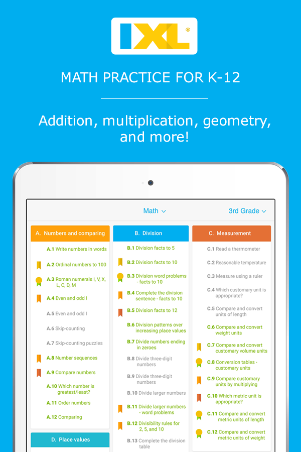 Interactive math practice for K-12 - practice 10 free problems a day ...