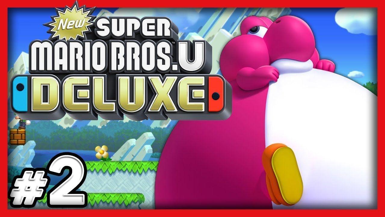 New Super Mario Bros U Deluxe 2 Chonks Ahoy 4 Player