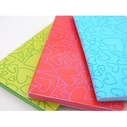 £7.50 Medium sized leather look hearts notebooks from Agatha Ruiz de la Prada.