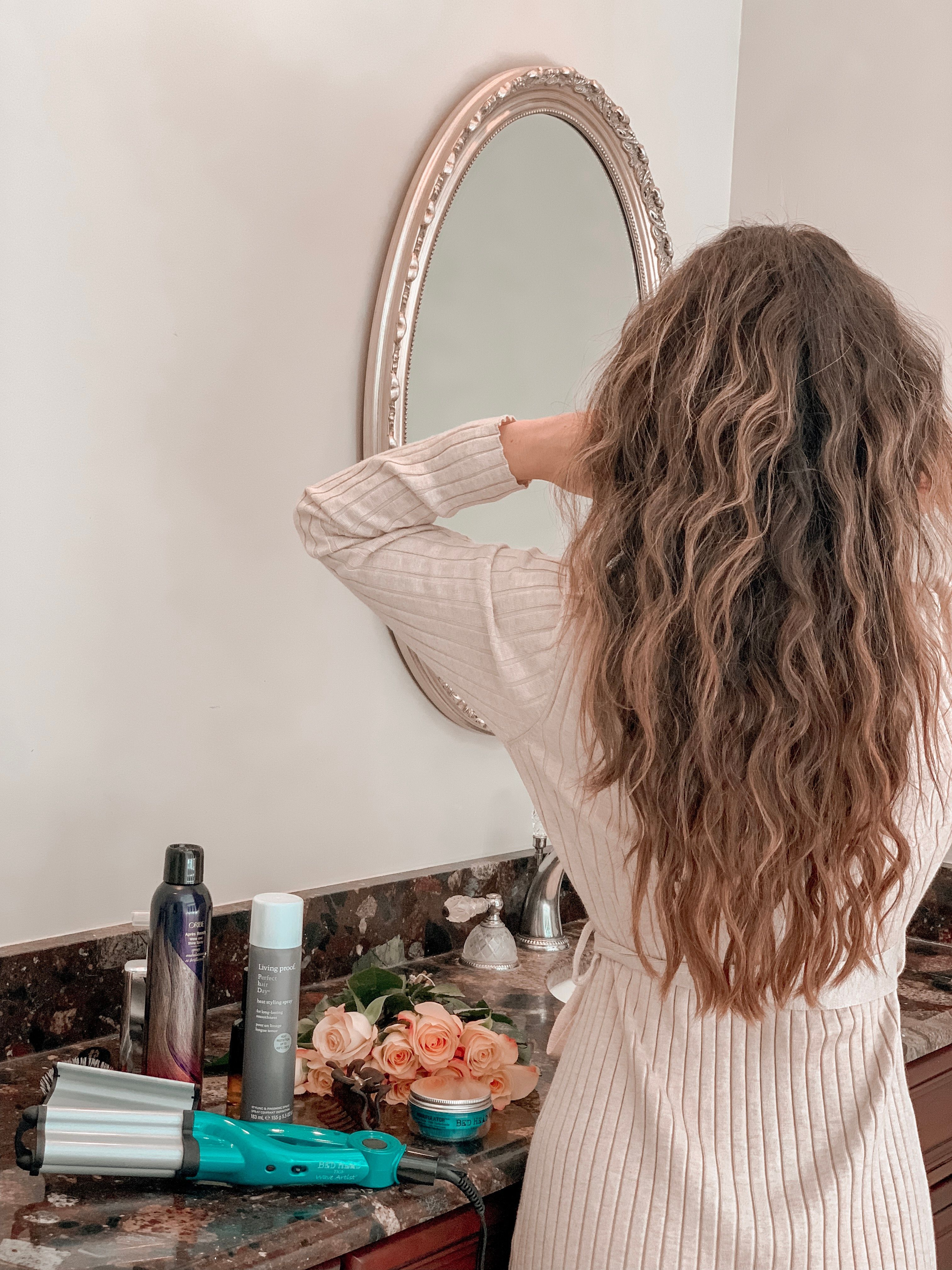 Bed Head Wave Artist Review + Tutorial Oh So Glam in
