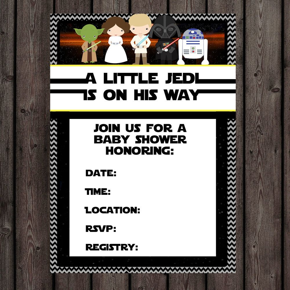 How To Make Star Wars Baby Shower Invites Designs With Charming Design For    Silverlininginvitations