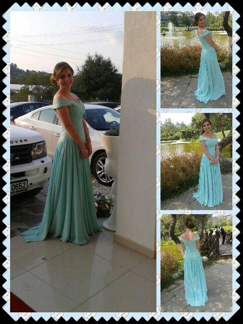 Mint green dress #ncsfashion#designer#haute #couture#fashion #designer