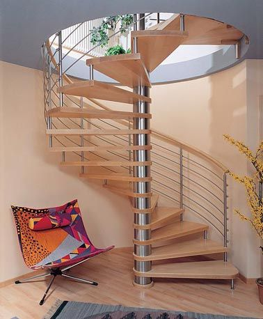 Best Spiral Stairs From Great Lake Stair Interior Stairs 400 x 300