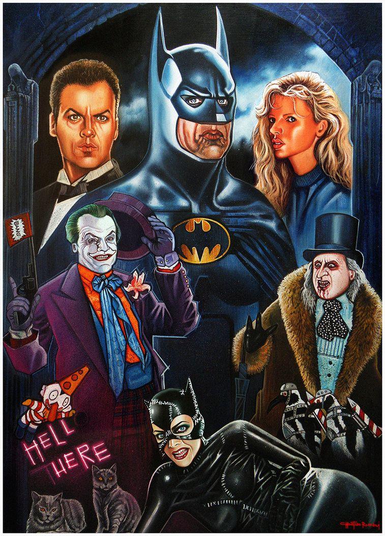 Batman Tim Burton Movies By Chrisroma Deviantart Com On