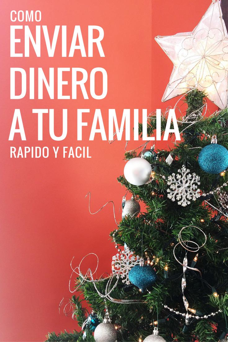 Cómo enviar dinero a tu familia fácilmente en estas fiestas de Navidad y Año Nuevo #XoomFiestas #AD