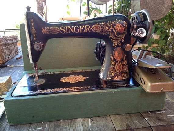 PRICE DROPPED 1916 Singer Redeye Cast Iron by ArtVandalDesigns, $165.00