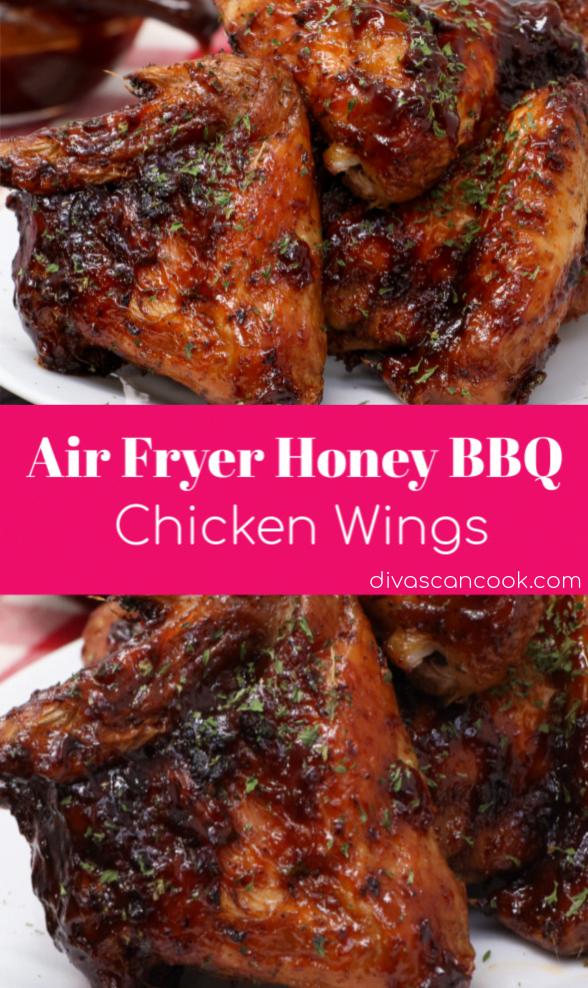 Air Fryer Honey BBQ Chicken Wings   Sweet, Smokey, Spicy, Bold Flavor! 😋 😋 😋 😋 😋 😋 🍗 🍗 🍗 🍗 🍗 🍗 🌶️ 🌶️ 🌶️ 🌶️ 🌶️ 🌶️