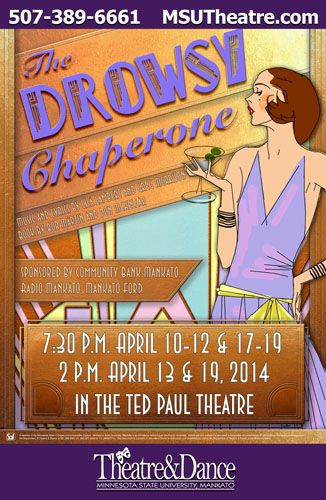 The Drowsy Chaperone Minnesota State University Mankato