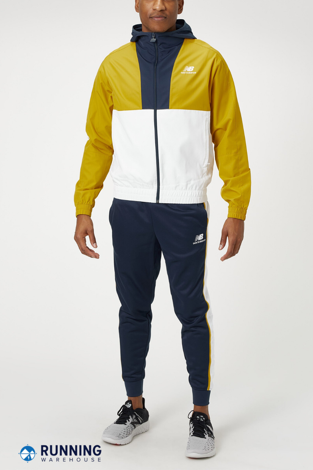 acceso vistazo Actor  The New Balance Men's Spring Athletics Full Zip Windbreaker is the perfect  companion on a temperamental spring day. … in 2020   Athleisure men, Mens  spring, New balance men