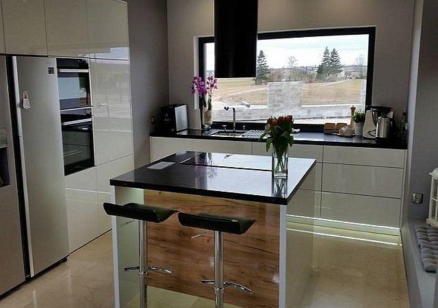 Realizacja Miesiaca Nowoczesne Kuchnie Projekty Forum Meble Kuchenne Kuchnie Na Zamowienie Wyspa Kuchenna Kitchen Interior Home Decor Home