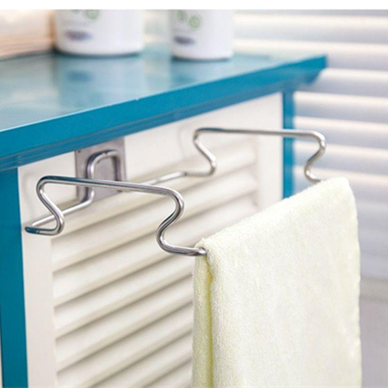Stainless Steel Kitchen Cupboard Drawer Door Waste Bin Stand S Trap Bowl Dustbin Hanging Rack