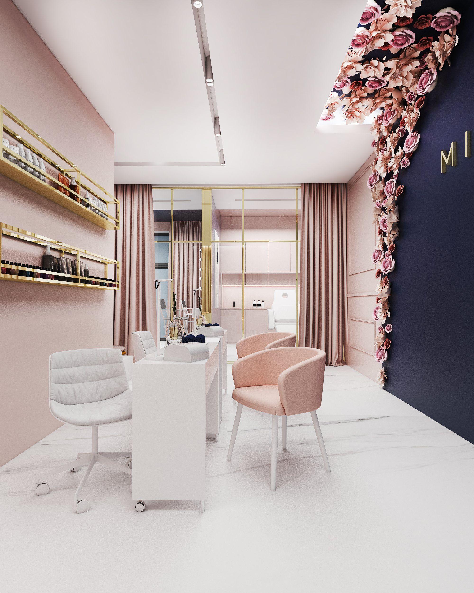 Salon Pieknosci Tychy Foorma With Images Salon Interior