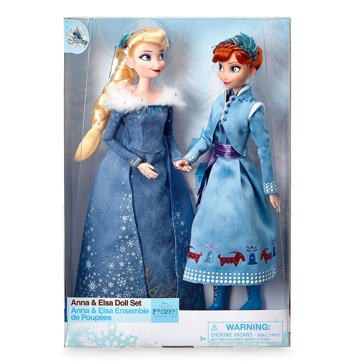 Anna And Elsa Classic Doll Set Olaf S Frozen Adventure 11 1 2 Elsa And Anna Dolls Disney Barbie Dolls Disney Princess Dolls