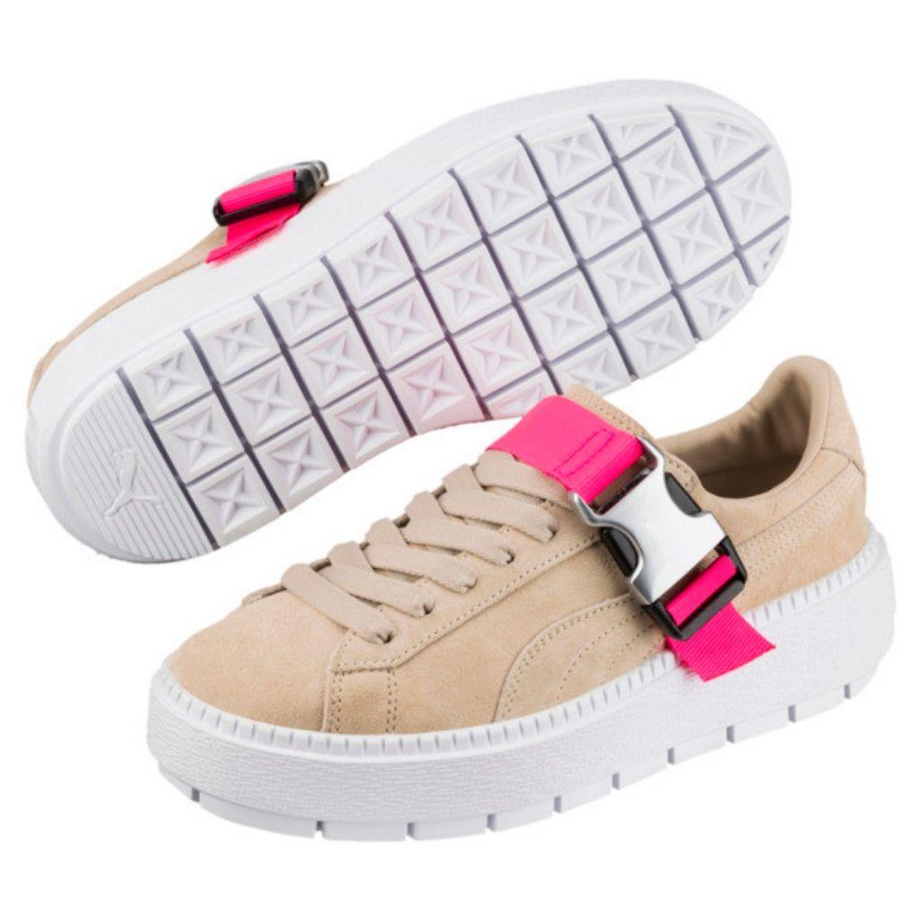 PUMA Platform Trace Buckle Sneakers