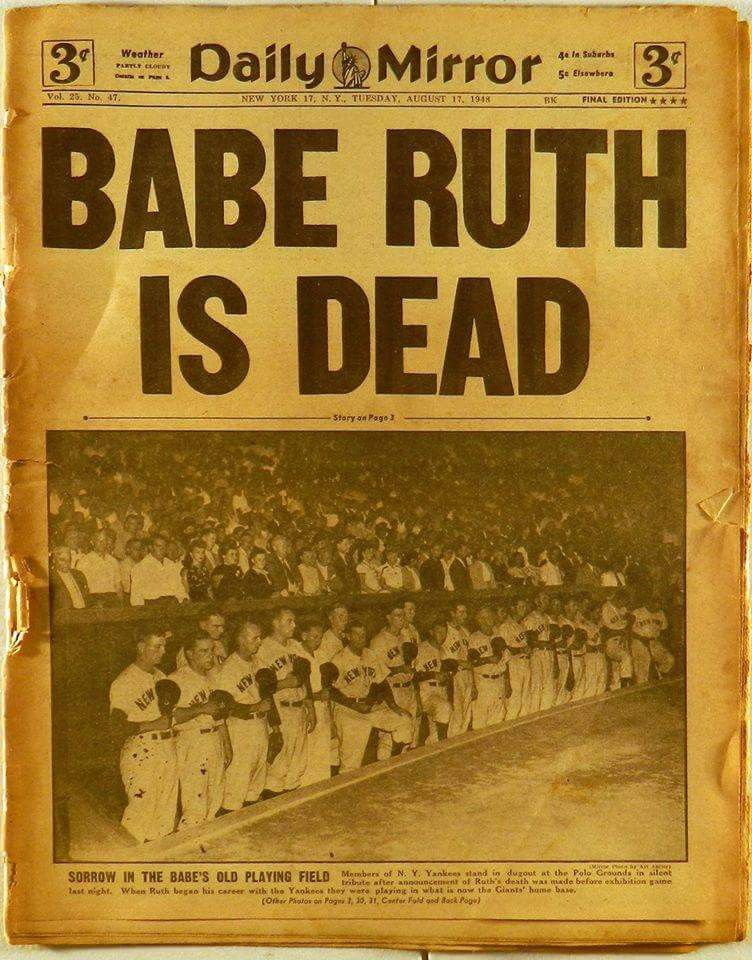 Pin By Dennis Rigel On New York Yankees Pinterest Babe Ruth Ny