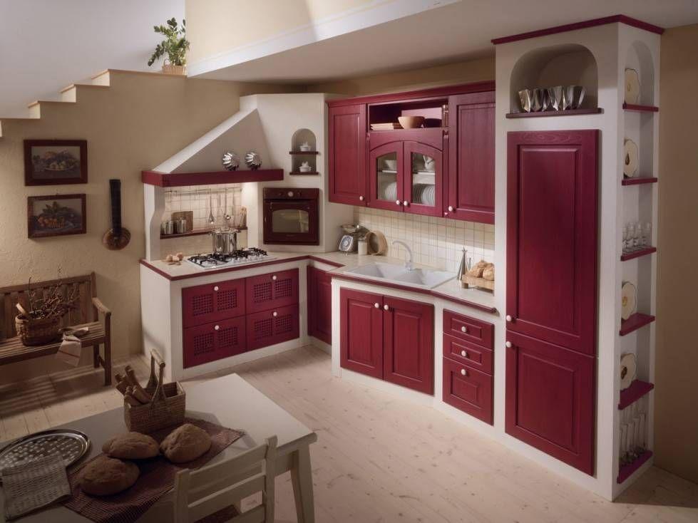 Cucine in muratura rustiche e moderne - Cucina in muratura, moderna ...