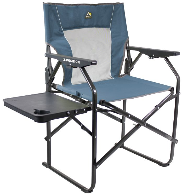 The 3 Position Directoru0027s Chair™ Folds Flat And Compact With Its  Patent Pending