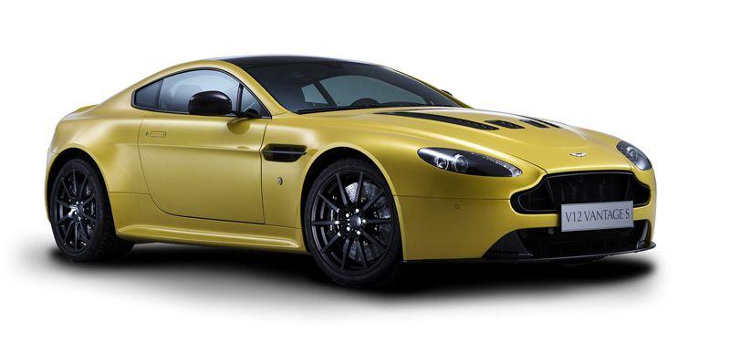 Aston Martin V12 Vanquish Coupe picture