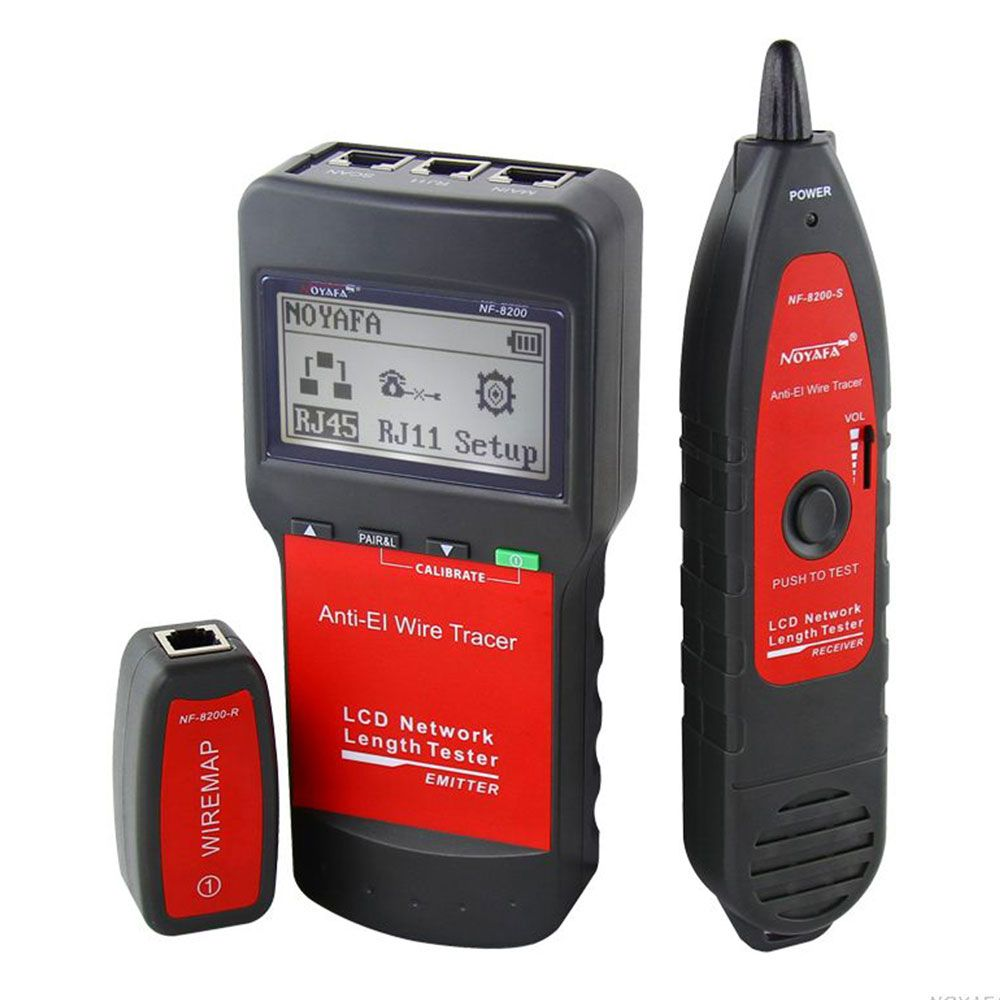 Network coax cable tester NF8200 LAN Network telephone cable tester ...