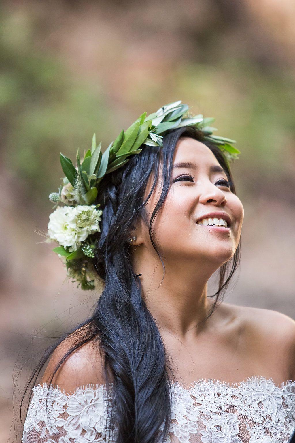 FreeSpirited Woodland Wedding in Saratoga Springs CA