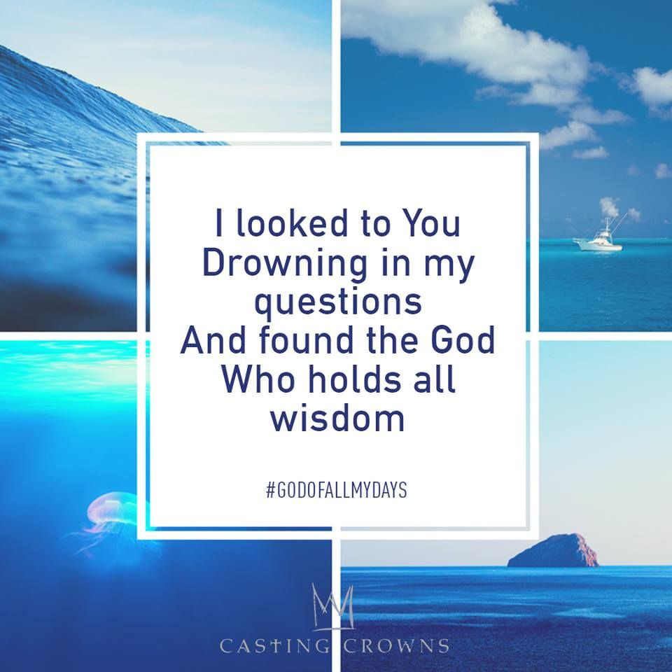 Casting Crowns - God of All My Days (Official Lyric Video ...