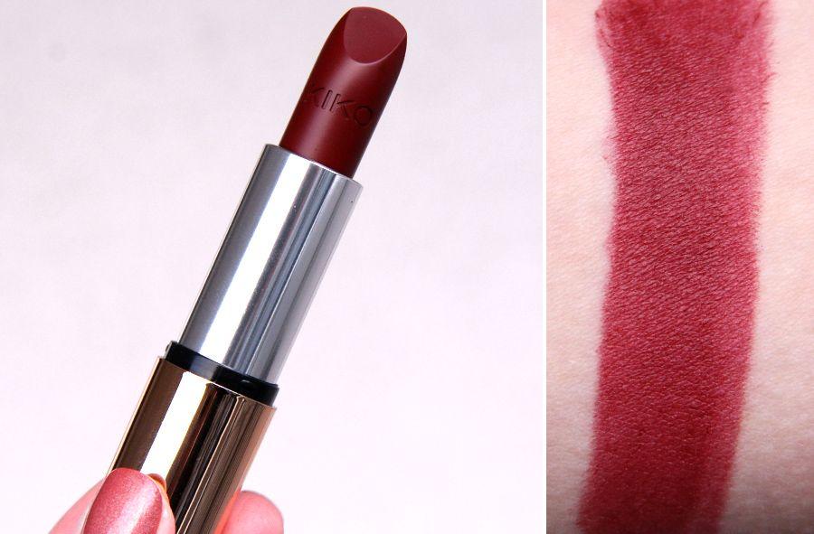 Kico mobili ~ Kiko cosmetics velvet mat lipstick cherry red 609 beauty