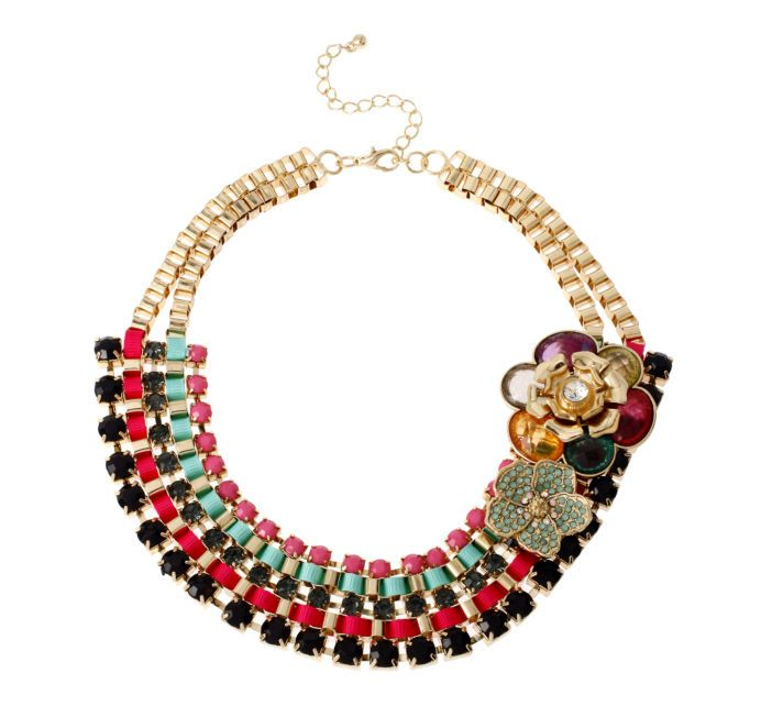 Mixit™ Multi-Row Collar Necklace