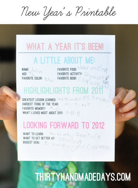 Creative Ways To Display New Year S Resolutions New Year S Eve Crafts New Years Eve Traditions Newyear