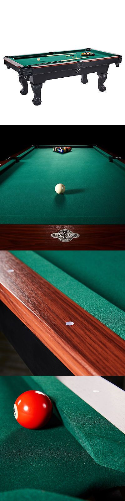 Billiards 21567 Lancaster 90 Inch Traditional Full Size Billiard Pool Table Set W Accessories It Now Only 599 99 On Ebay