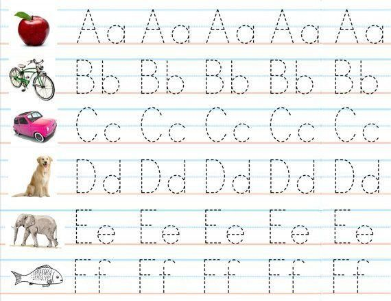 Free Printable Alphabet Practice Worksheets 3 – Alphabet Practice Worksheets