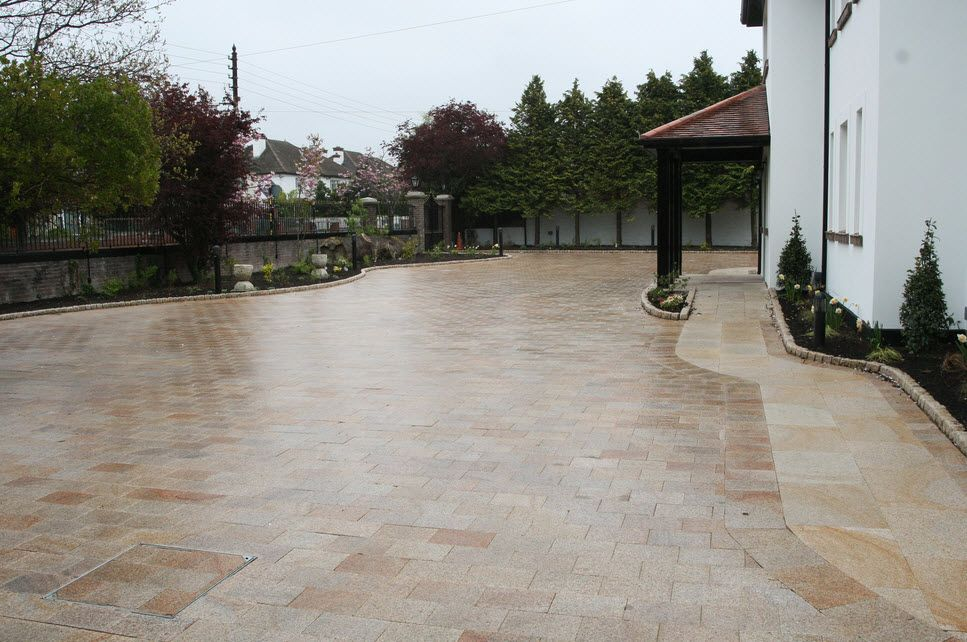 Our team can provide the perfect paving. Whether this a